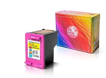 Amazon.com: Licorne 60XL - Cartucho de tinta reciclado ...