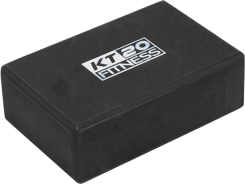 KT20 Complete Home /& Professional Yoga Mat /& Accessories Set Eco-Friendly Non-Slip 6mm Thick Lightweight Yoga /& Pilates Mat 2x Yoga Exercise Block Bricks Metal D-Ring Yoga Strap /& Yoga Towel