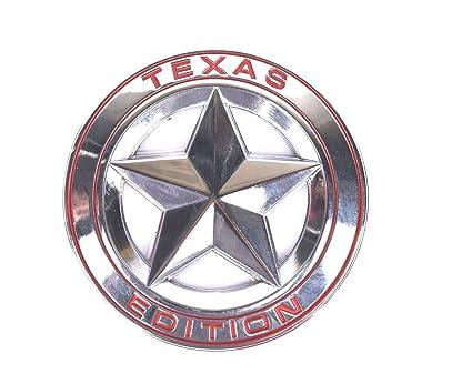 Beautiful Aimoll 1pc 3D Metal TEXAS EDITION Star Car Emblem Bagde, For JEEP Dodge  Mercedes BMW