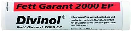 Fettkartusche Divinol KP2K-30 Fett Garant 2000 EP 400g, hohe Grundölviskosität, wasser- und druckbeständig, z-B. Schmieren vo