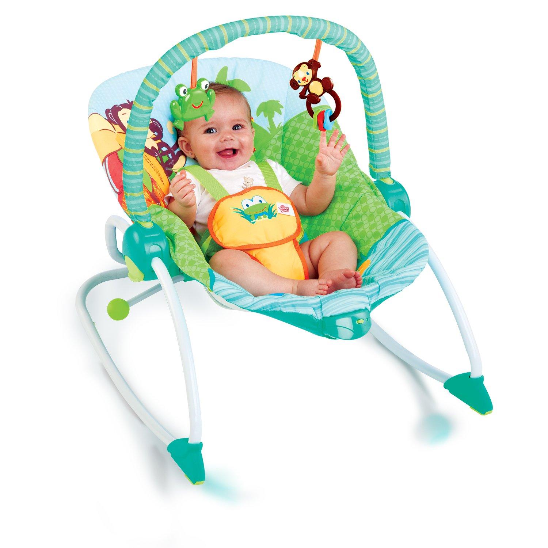 Bright Starts Peek A Zoo Baby Rocker Amazon Baby