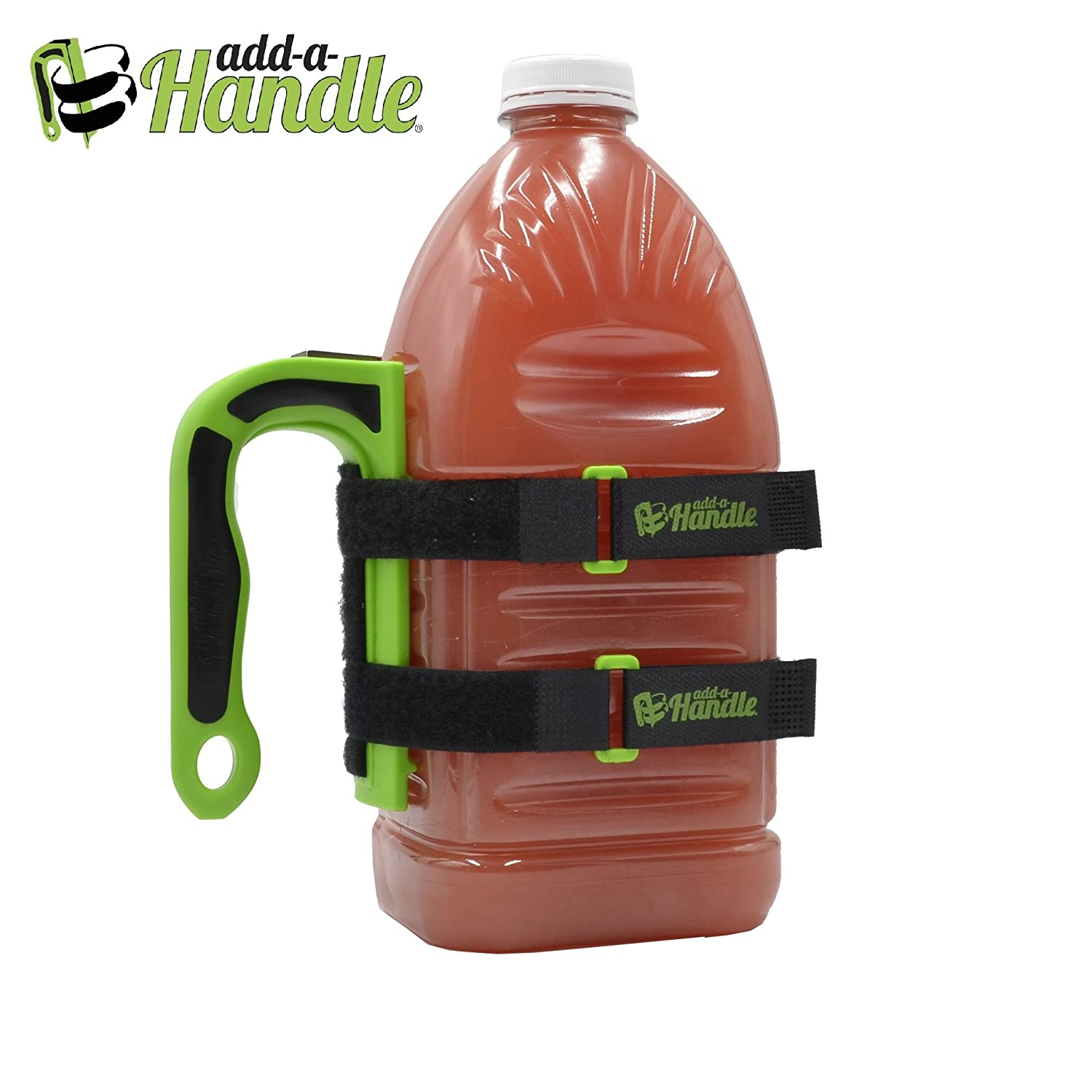 Add-a-Handle Green Multiuse Attachable Adjustable ADL Handle /& Hook w// 19 Velcro Brand Straps Pack of 2 We Have It Handled Corp. 2