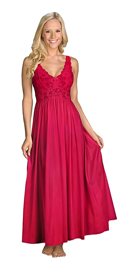 Shadowline Silhouette Gown and Peignoir Set (51737) at Amazon ...