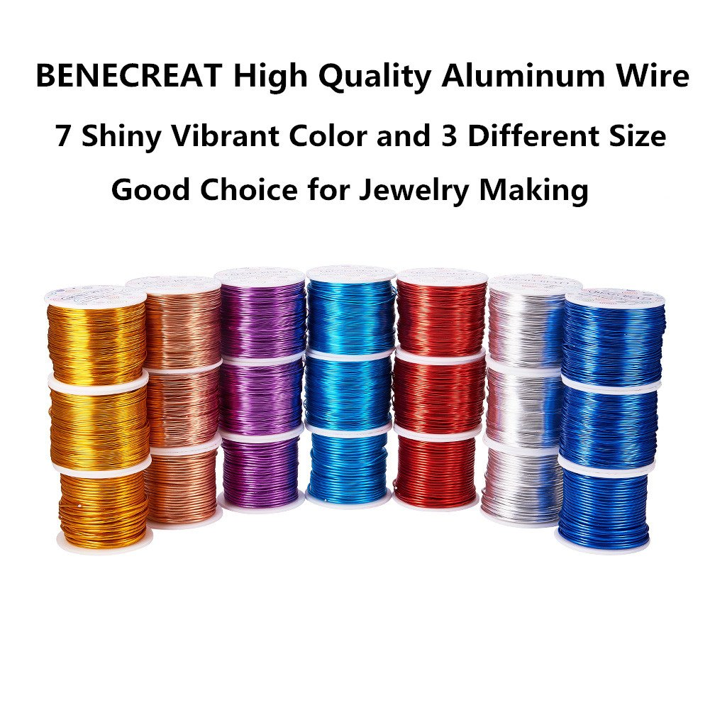 Amazon.de: BENECREAT 12 17 18 Gauge 100 FT Aluminium Draht ...