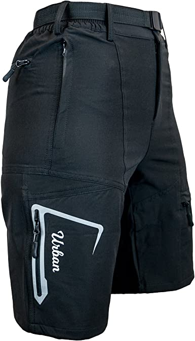and Dry-Fast Loose Fit Womens Mountain Bike MTB Shorts with Zip Pockets Urban Cycling Apparel The Grinder