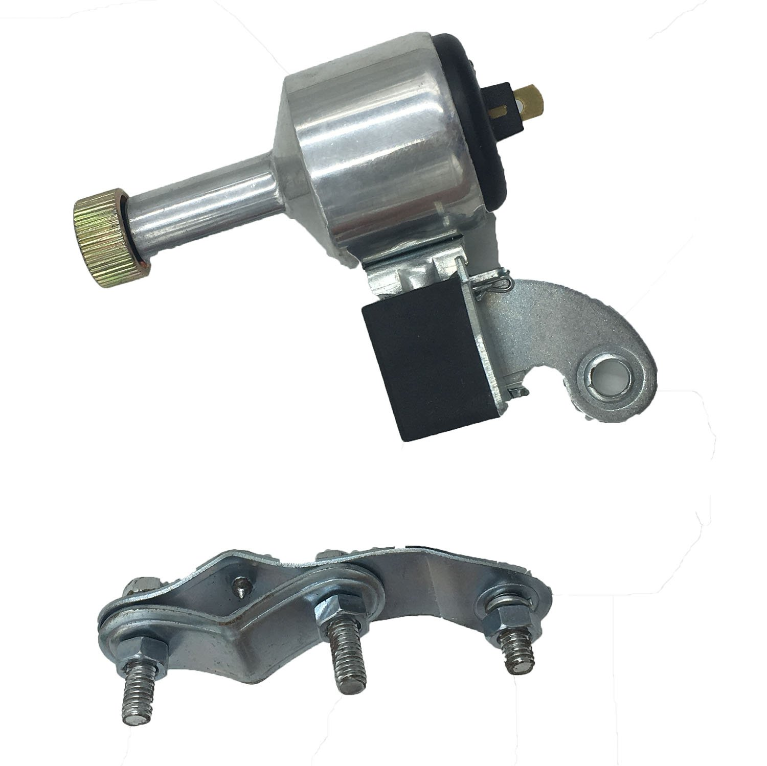 Bicycle Motorized Dynamo Generator 6V 3W Aluminum AC(Alternating Current) Powered For Headlight Taillight Through Rubbing