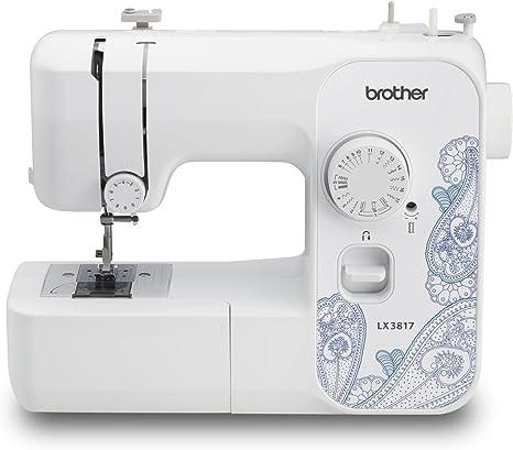 Brother LX3817A 17-Stitch Full-Size Aqua Sewing Machine