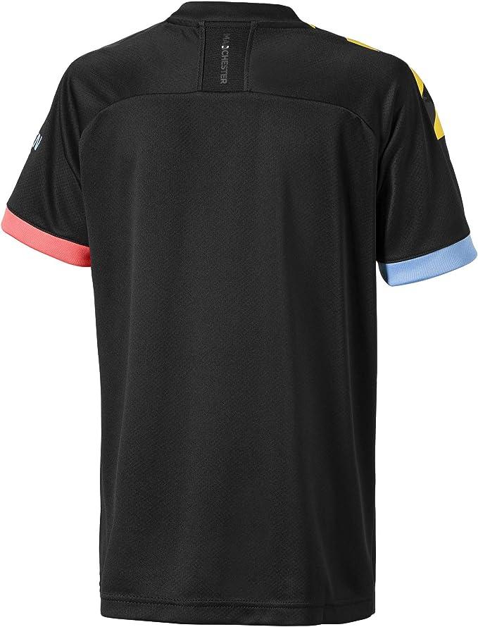 PUMA MCFC Away Shirt Replica SS Jr with Sponsor Logo Maillot ...