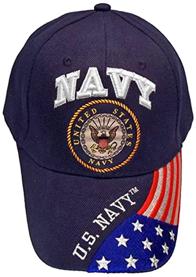 United States Navy Veteran Blue Baseball Style Embroidered Hat Ball Cap Vet  USA Flag us Retired (Navy Blue) at Amazon Men s Clothing store  8ed89fdf3a7d