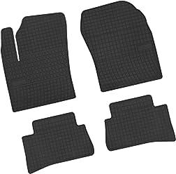 NF Velours schwarz Fußmatten passend für BMW 3er E46 Limo Touring Coupe Compact