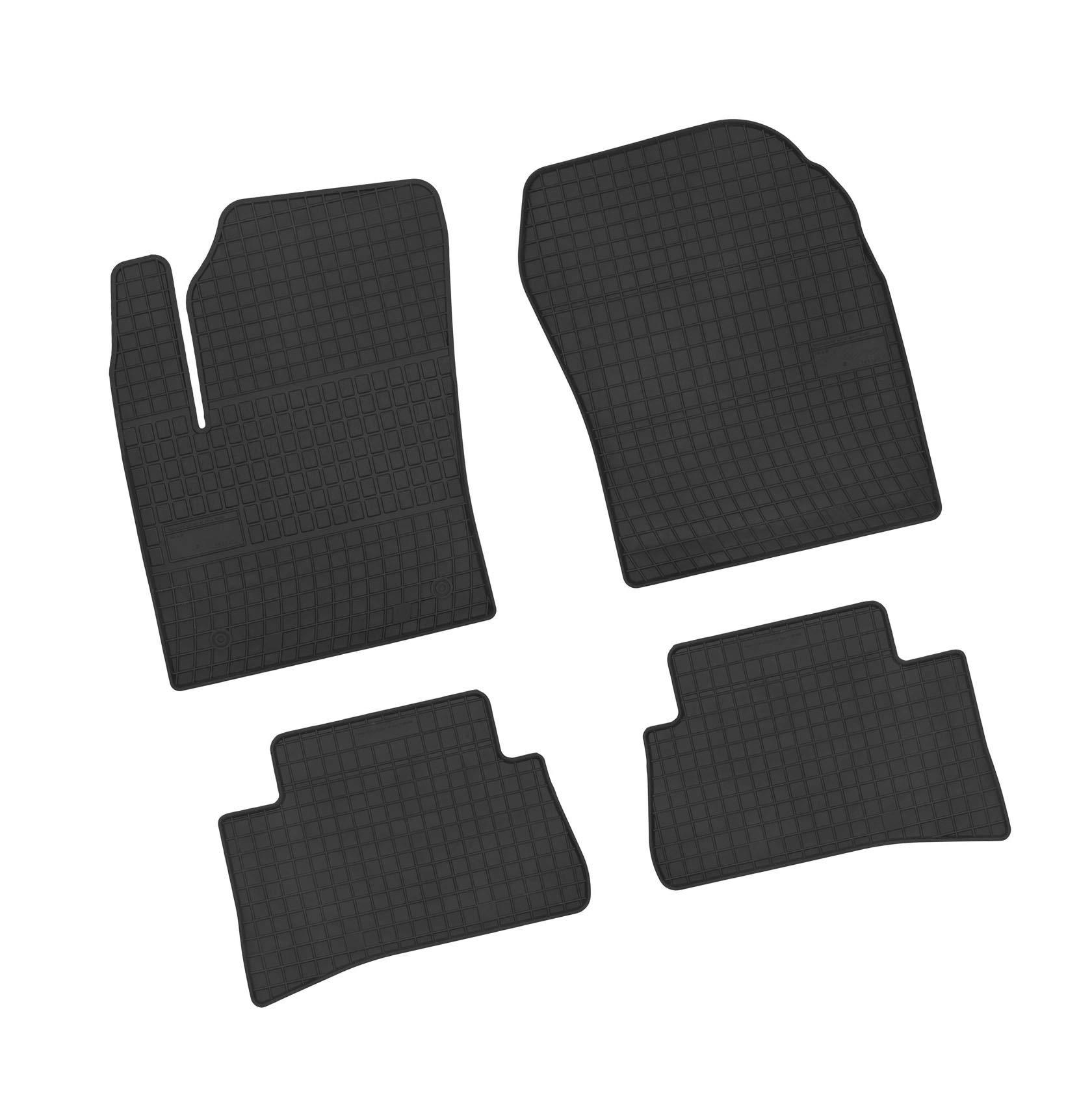 NF Velours schwarz Fußmatten passend für Renault Koleos Bj.08