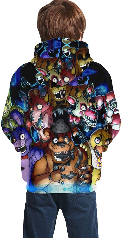 FNAF Five Night At Freddy/'s Kids Boy Hoodie Cute Sweatshirt Casual Coat Costumes