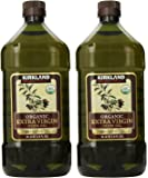 Kirkland Signature, Organic Extra Virgin Olive Oil 3.6 Ounce lndGu (Pack of 2)