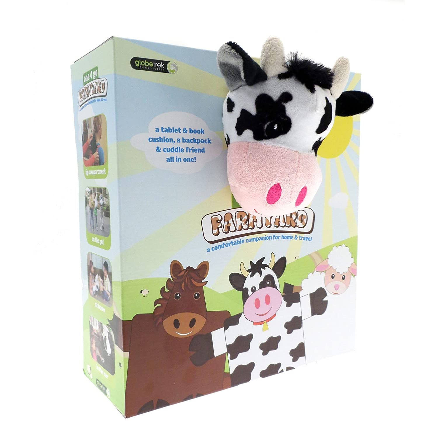 Backpack Pillow Childrens 4 To Go Farmyard Tablet Ipad Case Cushion Backpack Bag