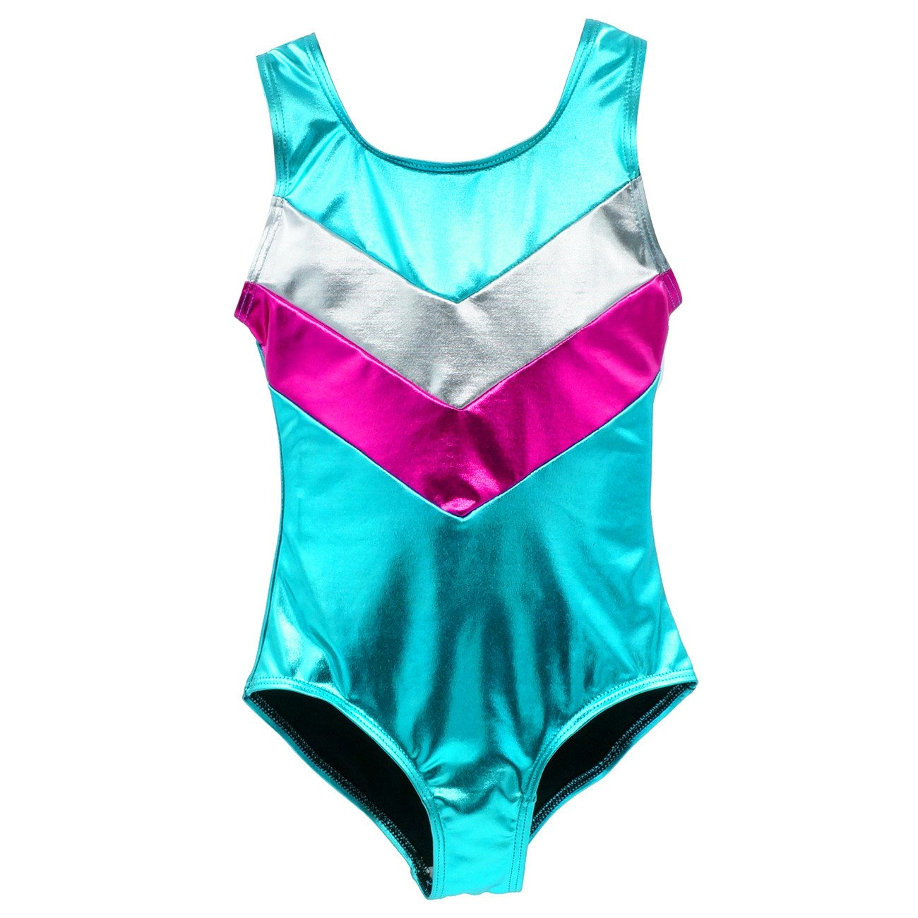 Girls' Gymnastics Sparkle Leotard One-piece Suits Tumbling Dance Activewear Workout Happy Cherry
