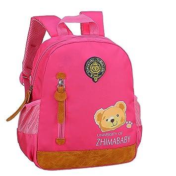 f6721ae5bff Nouveauté Sac à Dos Enfant Maternelle Cartable Préscolaire Backpack Sac d Ecole  Primaire Oxford Étanche