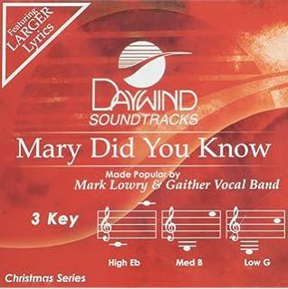 mary did you know accompanimentperformance track - Christmas Hallelujah Lyrics
