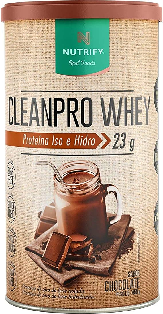 Cleanpro Whey (450G) - Sabor Chocolate, Nutrify