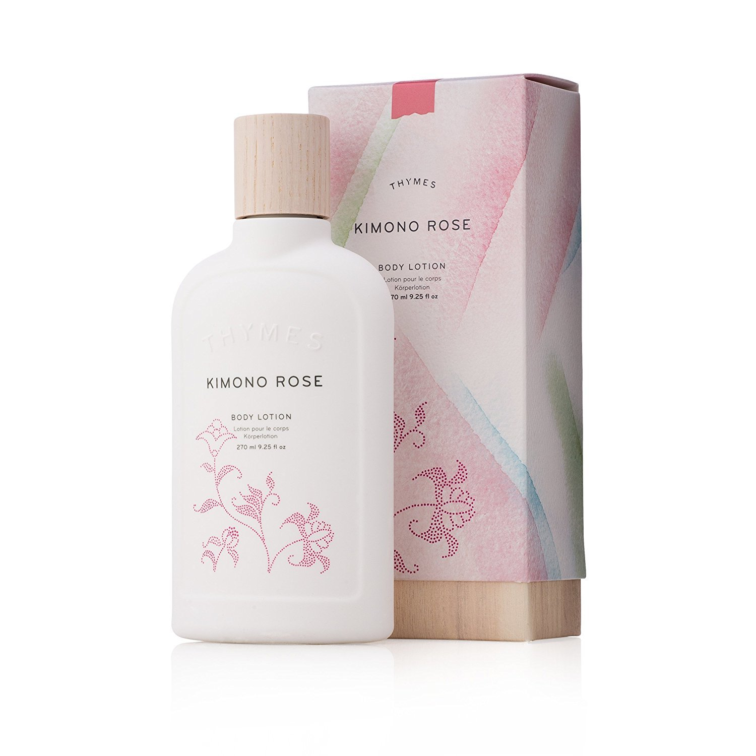 Thymes Body Lotion, Kimono Rose, 9.25 oz [Health and Beauty] 0621300100