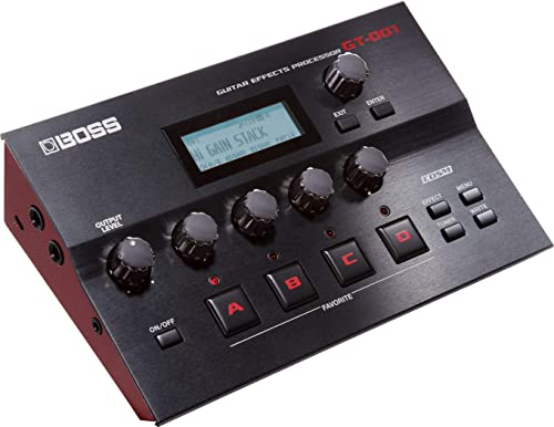 BOSS GT-001 Table Top Guitar Effects Processor (GT-001)
