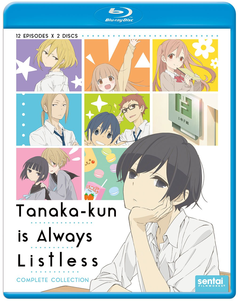 Tanaka-kun Is Always Listless Blu-ray (Dual Audio)