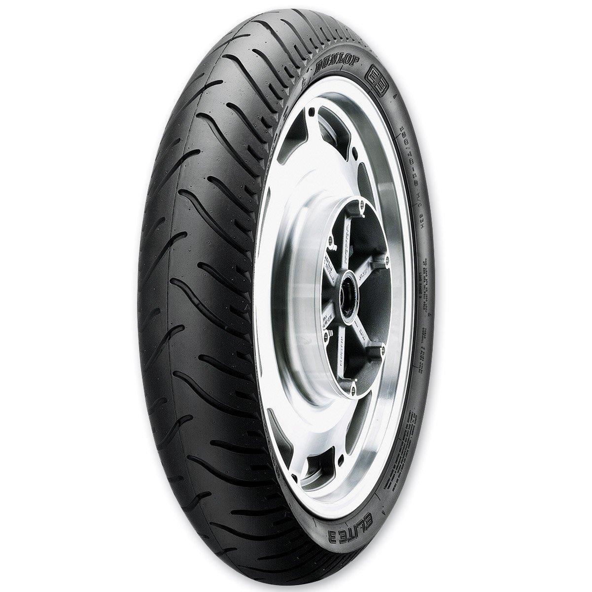 Dunlop Elite 3 90/90-21 Front Tire 45091159 4333047010 tr-314413