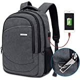 Modoker Laptop Backpack Bookbags for Men Women, Anti Theft College Travel Business Backpack, Lightweight Computer Bag Fits 15.6 Inch Laptop and Notebook