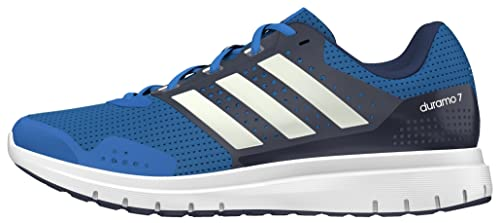new arrival a90cc 3c581 adidas Duramo 7, Mens Competition Running Shoes, Blue (Unity Blueftwr  White