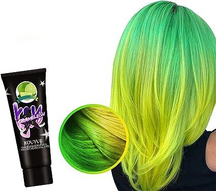 FinWell Thermochromic Color Changing Wonder Dye Hair Dye Fashion Hair Cream Unisex DIY Hair Color Wax Hair Coloring Cream