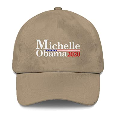 c173907a96b Amazon.com  Tcombo Michelle Obama for President 2020 Dad Hat (Beige ...