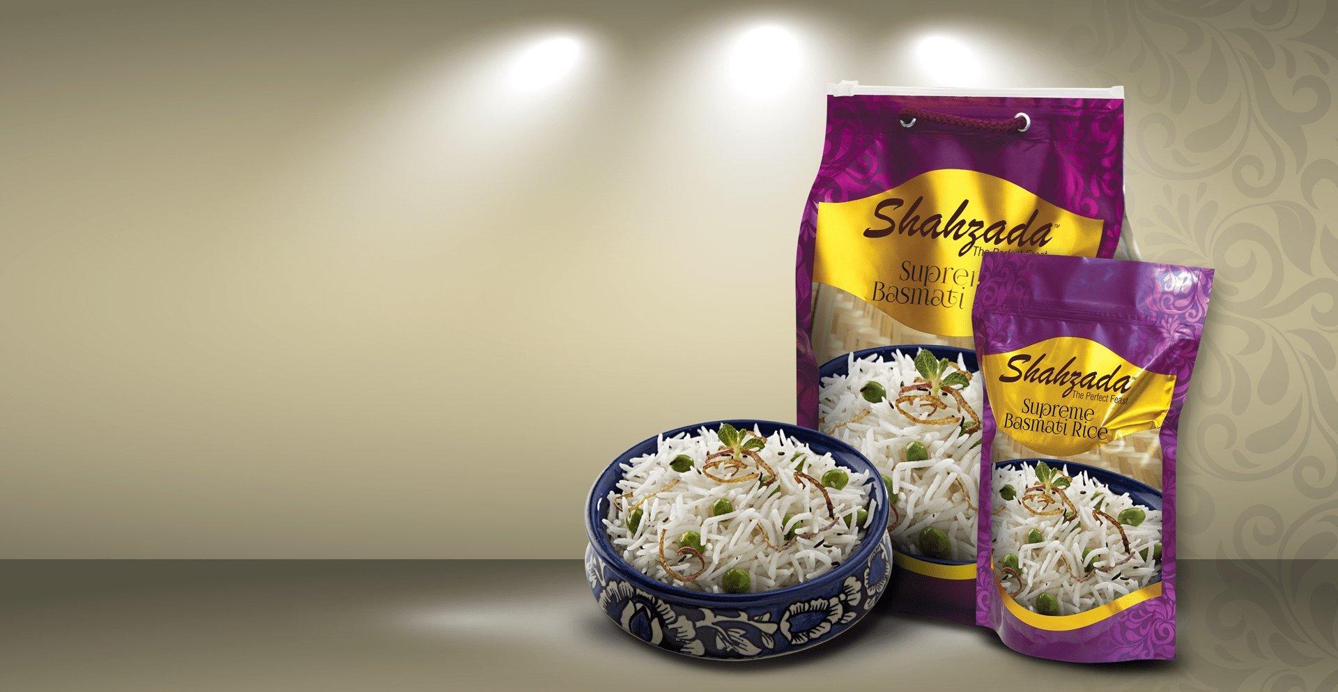 Shahzada Basmati Supreme Rice - 2 Lbs