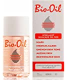 Bio-Oil - Skin Care Oil - 60ml (Specialist for Scars, Stretch marks, Uneven Skin Tone, Ageing Skin, Dehydrated Skin )