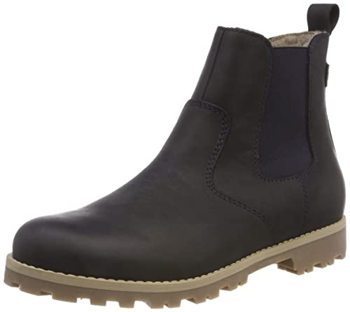 Froddo Kids Ankle Boots G3160089, Botas de Nieve Unisex Niños, Azul (Dark Blue