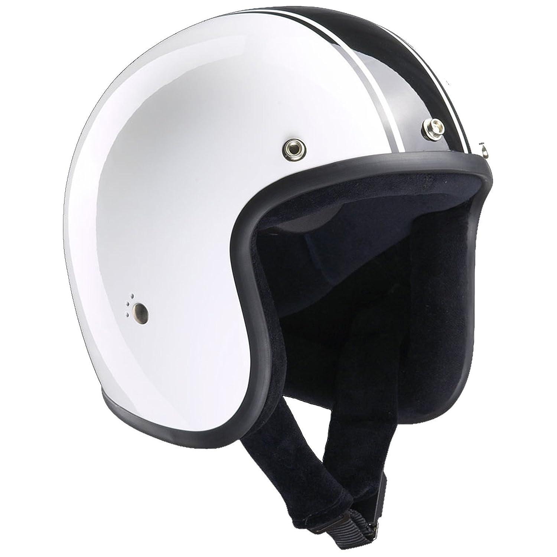 Amazon.es: Casco para motocicleta Classic Jet de la marca Bandit, diseño liviano y cómodo