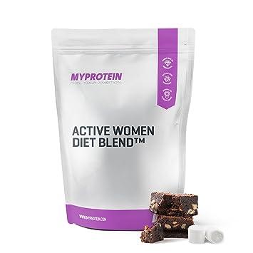 MyProtein Active Woman Diet Blend Batido de Proteínas, Sabor Fresas con Nata - 1000 gr: Amazon.es: Salud y cuidado personal
