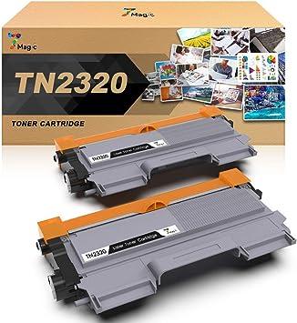 TN-2320 Compatible Brother Tóner Negro, 7Magic TN-2320 Cartucho de ...