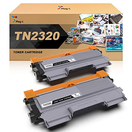 TN-2320 Compatible Brother Tóner Negro, 7Magic TN-2320 Cartucho de Tóner Para Brother MFC-L2700DW MFC-L2740DW MFC-L2720DW HL-L2300D HL-L2340DW ...