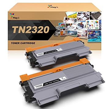 TN-2320 Compatible Brother Tóner Negro, 7Magic TN-2320 Cartucho de ...