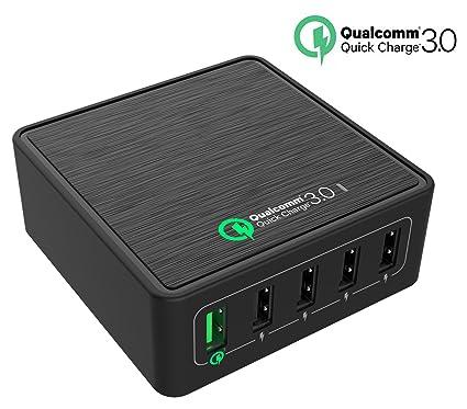 Quick Charge 3.0 USB cargador, cargador rápido topace® 40 W ...