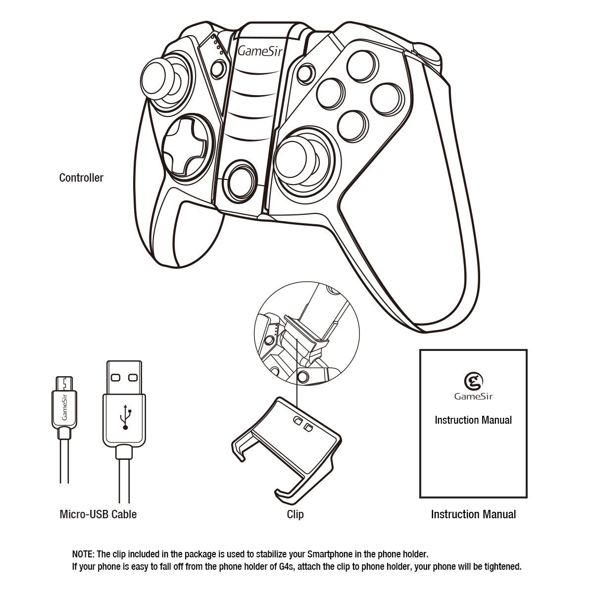 g4 wireless gaming controller for android smartphone unboxed iPhone USB Wiring-Diagram 36 99 from amazon