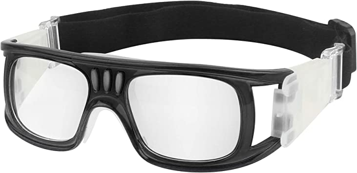 Sports Protective Goggles Basketball Glasses Eyewear Black Football Rugby Soccer