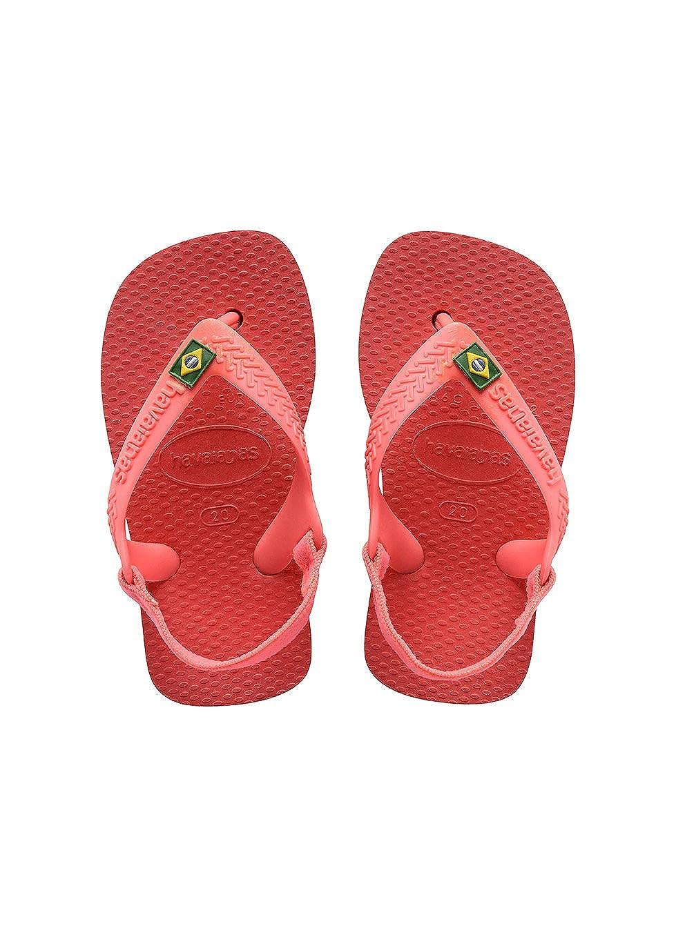 Havaianas Tongs Bebe Brasil Logo Havaianas KIDS SLIM PRINCESS 25/26 EU (23/24 BR) 4119727