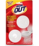 Iron OUT Not Available Automatic Toilet Bowl Cleaner, 2 Tablets, 2 Count