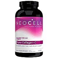 NeoCell Super Collagen with Vitamin C, 360 Collagen Pills, #1 Collagen Tablet Brand...
