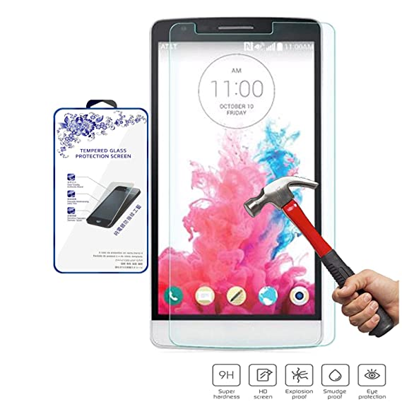 Nacodex Glass For Lg G3 Stylus D690 Premium Real Tempered Film Screen Protector Guardian