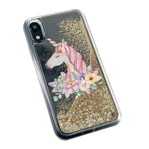 clear unicorn iphone xr case