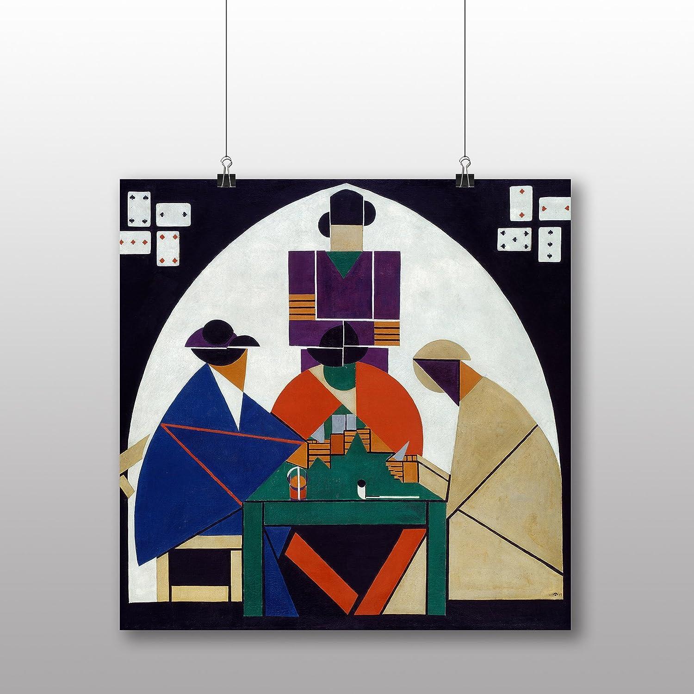 Póster de Theo Van Doesburg jugadores de cartas - varios ...