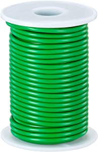 Gloryfox Soft Garden Wire Ties, Heavy Duty Plant Training Wire, Soft Plant Wire and Reusable Rubber Twist Tie for Plants, Home & Office Organization (32.8 feet/10 Meters)