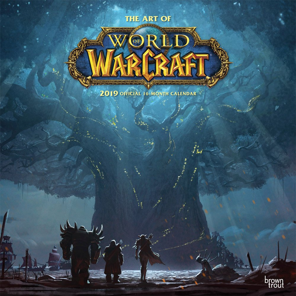 World Of Warcraft 2019 12 X 12 Inch Monthly Square Wall Calendar