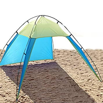 UV Sun Shade Shelter Beach Tent Canopy for 3-8 Person  sc 1 st  Amazon.com : tents for beach shade - memphite.com